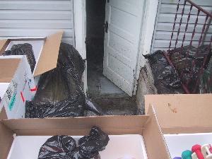 basement barricade